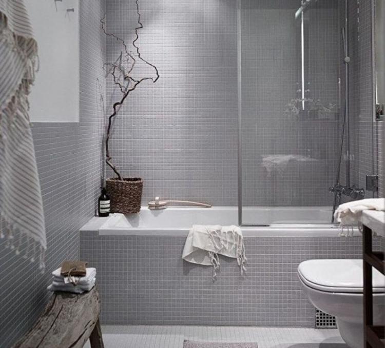 Дизайн интерьера ванной комнаты в хрущевке - фото