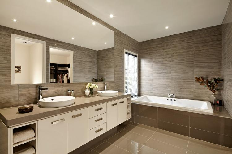 Мебель - Дизайн ванной комнаты в современном стиле