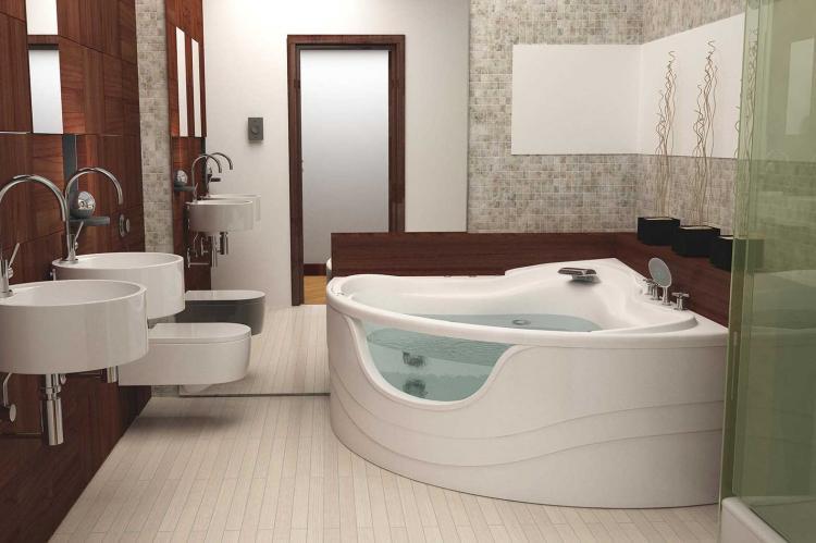 Ванна - Сантехника для ванной комнаты в современном стиле