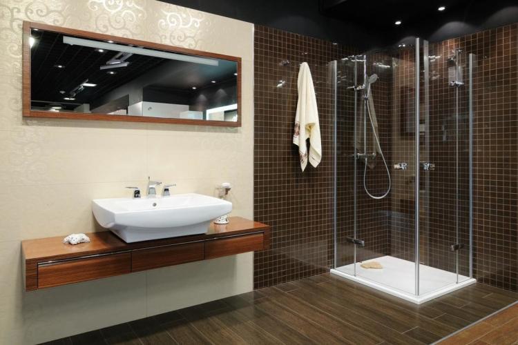 Душевая кабина - Сантехника для ванной комнаты в современном стиле