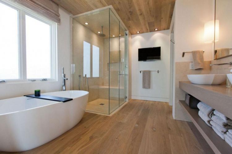 Дизайн ванной комнаты в современном стиле - фото
