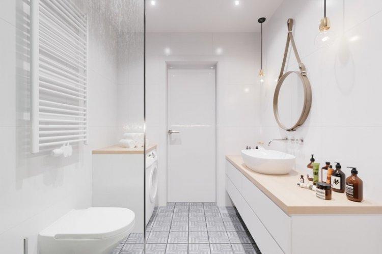 Главные особенности - Дизайн ванной комнаты в скандинавском стиле