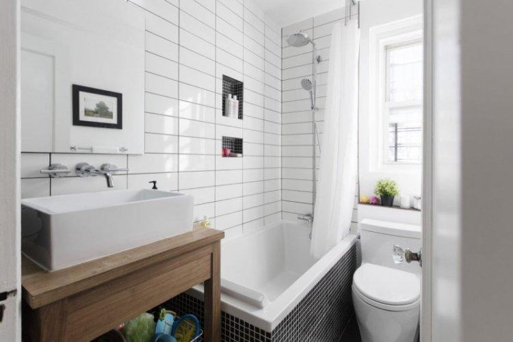 Мебель и системы хранения - Дизайн ванной комнаты в скандинавском стиле