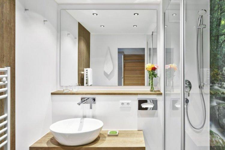 Декор и текстиль - Дизайн ванной комнаты в скандинавском стиле