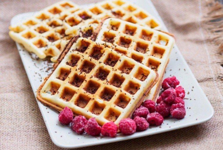 Классические венские вафли в электровафельнице - рецепты