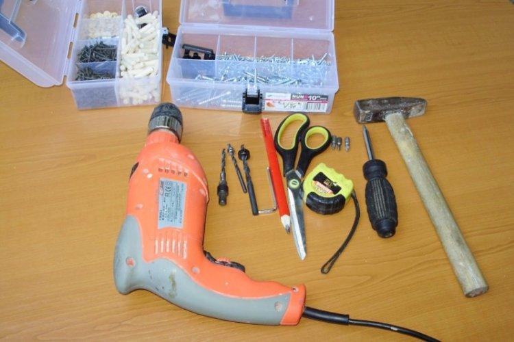 Инструменты для изготовления - Встроенный шкаф-купе своими руками