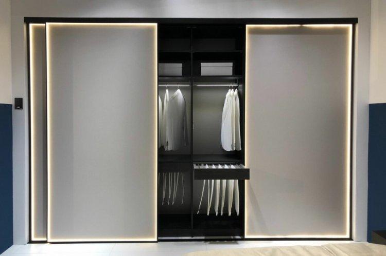 Подсветка - Встроенный шкаф-купе своими руками