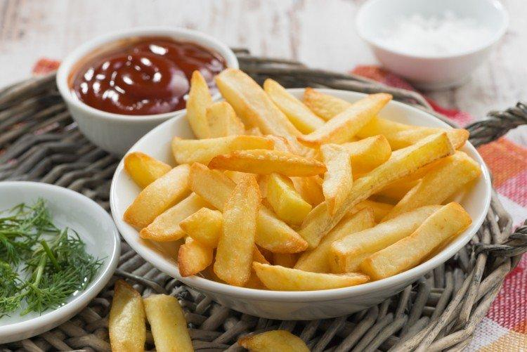 Картошка фри - Закуски к пиву в домашних условиях