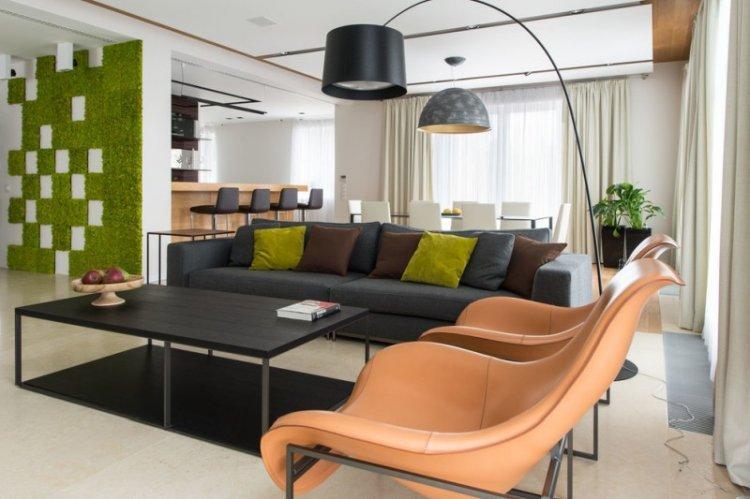 Современный стиль - Зеленый цвет в интерьере