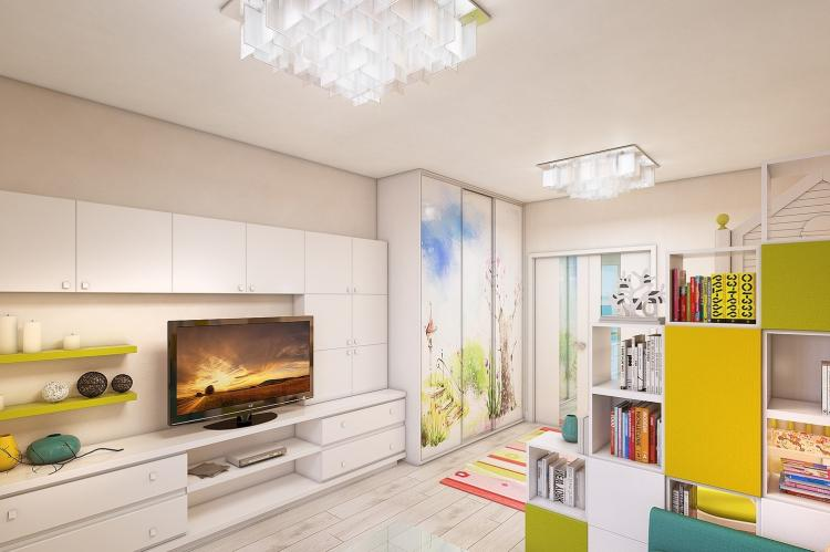С чего начать зонирование - Как зонировать комнату для родителей и ребенка