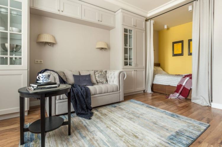 Шторы и занавески - Способы зонирования комнаты