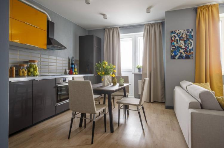 Мебель - Способы зонирования однокомнатной квартиры