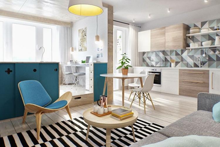 Подиум - Способы зонирования однокомнатной квартиры