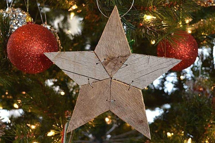Звезда на елку своими руками - фото и идеи