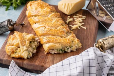 Что приготовить из слоеного дрожжевого теста: 20 быстрых и вкусных блюд