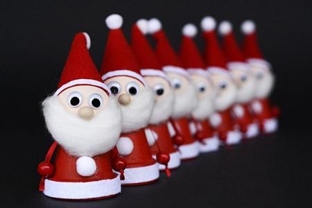 Дед Мороз своими руками в детский сад и школу: 8 красивых идей поделок