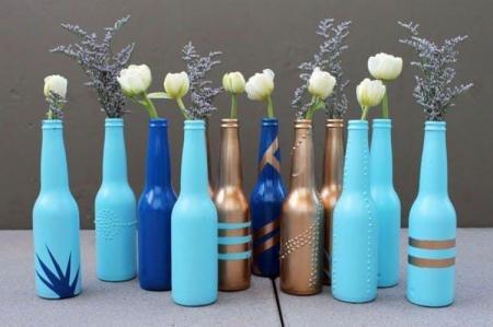 Декор бутылок своими руками: 10 красивых идей (фото)