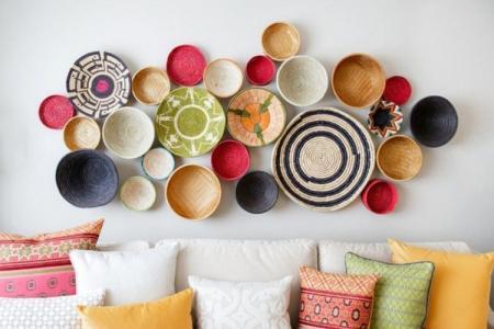 14 красивых идей декора стен своими руками (фото)