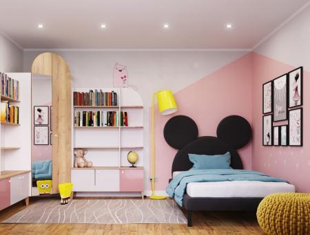 Интерьер детской комнаты «Minnie Mouse»