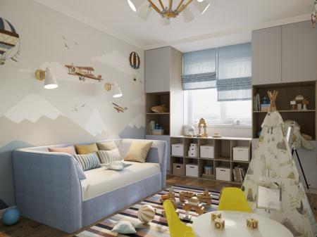 Детская комната «Вселенная для первооткрывателя»