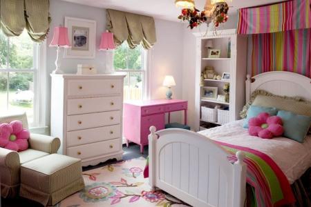 Дизайн детской комнаты для девочки (95 фото)