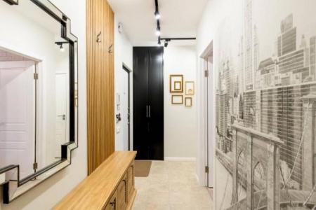 Дизайн коридора в квартире: красивые идеи (80 фото)