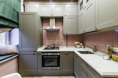 Как оформить дизайн кухни 10 кв.м. (85 фото)