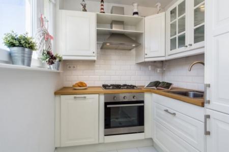 Дизайн кухни 3 на 3 метра: красивые идеи (70 фото)