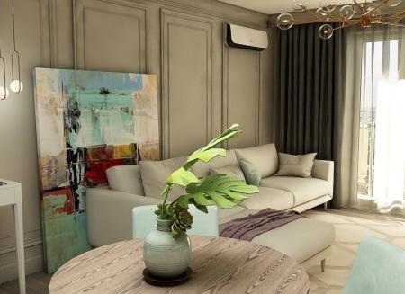 Дизайн-проект маленькой квартиры, 30 кв.м.