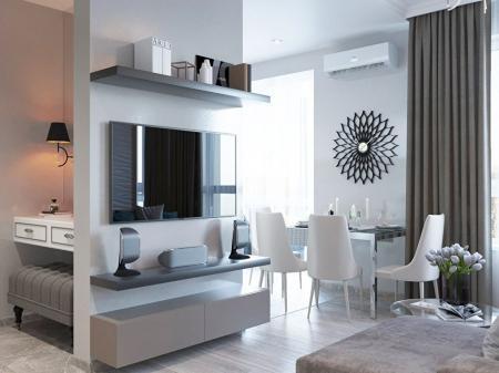 Дизайн квартиры 49 кв.м.
