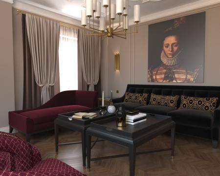 Дизайн-проект квартиры «По следам Возрождения»