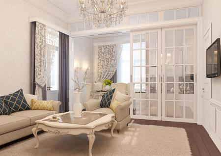 Дизайн-проект квартиры во французском стиле