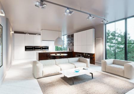 Проект квартиры «White sky»