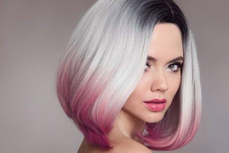 Модное окрашивание 2021 на короткие волосы (50 фото)