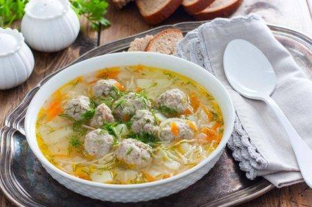 20 простых и вкусных супов с фрикадельками