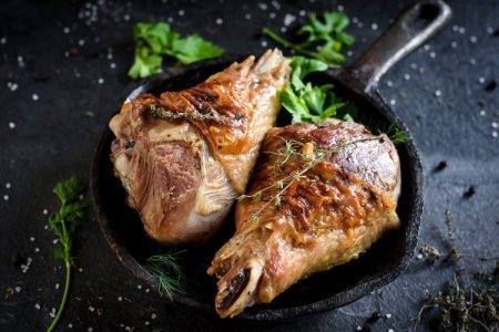 12 рецептов вкуснейшей голени индейки в духовке