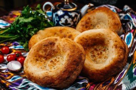 10 рецептов вкусных узбекских лепешек в духовке