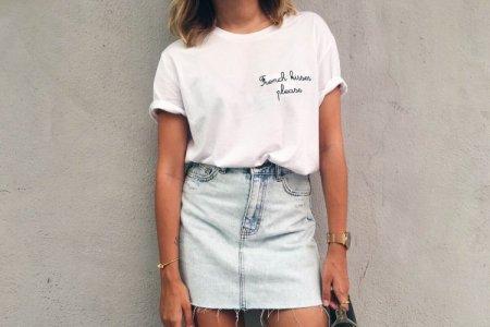 Модные женские футболки 2021: главные тренды и новинки (50 фото)