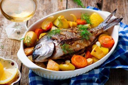 20 отличных рецептов запеченной рыбы в духовке