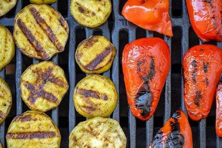 15 способов вкусно приготовить овощи на мангале