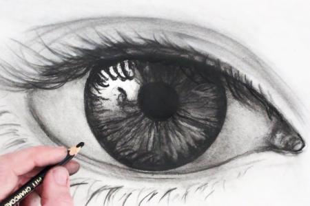 Как нарисовать глаза: 7 простых способов (поэтапно)