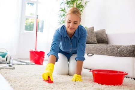 Как почистить ковер в домашних условиях?