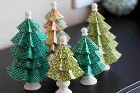 Как сделать елку из бумаги: 12 красивых идей своими руками