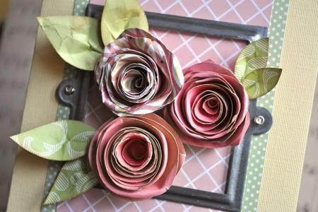 8 простых идей, как сделать розу из бумаги