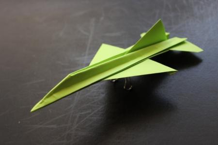 10 лучших схем, как сделать самолет из бумаги