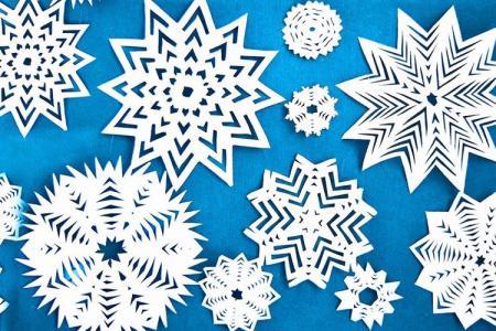 Как сделать снежинку из бумаги: 12 легких и красивых идей
