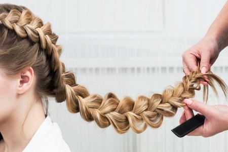 Как заплести французскую косу: пошаговые фото