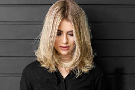 Каскад на средние волосы без челки: 11 идей стрижки (фото)