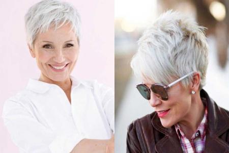 Короткие стрижки для женщин после 40 лет (фото)