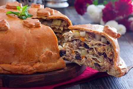 Как приготовить курник: 10 простых и вкусных рецептов